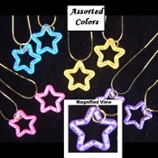 BEST FRIENDS STAR PENDANT NECKLACE SET-BFF Party Favor Jewelry