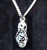 Animal Print ZEBRA FLIPFLOPS PENDANT NECKLACE-Safari Zoo Jewelry