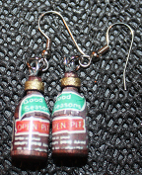Funky OPEN PIT BBQ SAUCE EARRINGS Barbecue Grill Outdoor Party Charm Jewelry