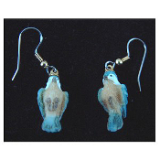 Mini BIRD EARRINGS - Spring Garden Birds Jewelry -B