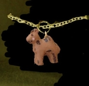 CAMEL PENDANT NECKLACE-Resin Desert Safari Zoo Animal Jewelry