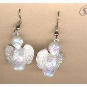 CUPID CHERUB EARRINGS -Baby ANGEL Love Charm Jewelry -PRAYING