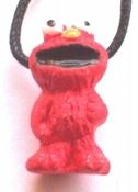 ELMO PENDANT NECKLACE-Character Charm Sesame Street Fun Jewelry