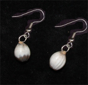 Mini Vidalia Onion Earrings - Herb Garden Vegetable Charm