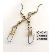 ADD-Charms HOLDER EARRINGS-Teacher-FRIENDS Gift-changeable switchable novelty Jewelry-Small