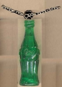 COKE BOTTLE PENDANT NECKLACE-Coca Cola Soda Drink Charm Jewelry