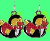Cute DUCKY DRACULA VAMPIRE EARRINGS - Halloween Trick-or-Treat Costume Party Jewelry