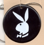 PLAYBOY BUNNY PENDANT NECKLACE-Vintage Retro Charm Funky Jewelry
